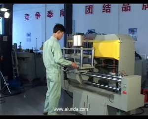 KT-313F End-milling machine for curtain wall materials