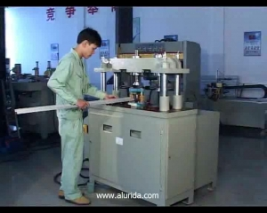 KT-373A/D Four-column hydraulic punching machine