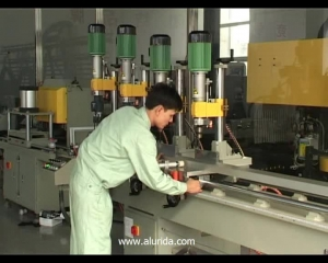 KT-368B Pneumatic multi-head drilling machine