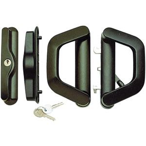 HD006 double handle with internal lock and key